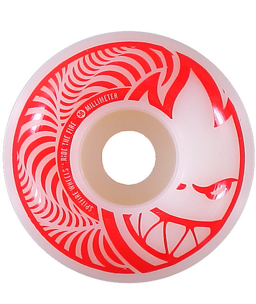 Spitfire - Hypno Swirls 56mm White
