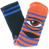 Toy Machine - Sect Eye Stripe Socks Orange Blue Black