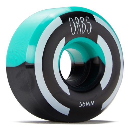 Welcome - Orbs Apparitions 56mm Wheels Teal/Black Splits