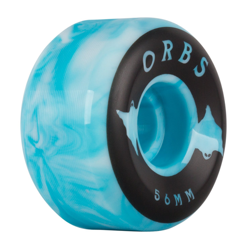Welcome - Orbs Specters 56mm Wheels Swirls Blue/White