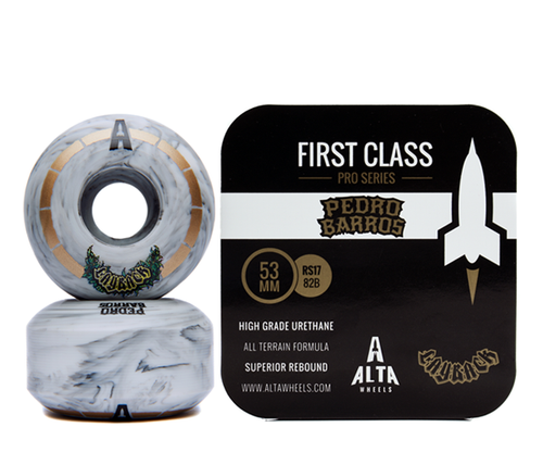Alta Wheels - Pedro Barros x Layback Beer Collab 53mm First Class Pro Series