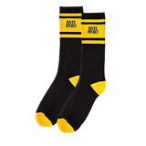 Antihero -  Eagles Up Calf Socks Black/Yellow