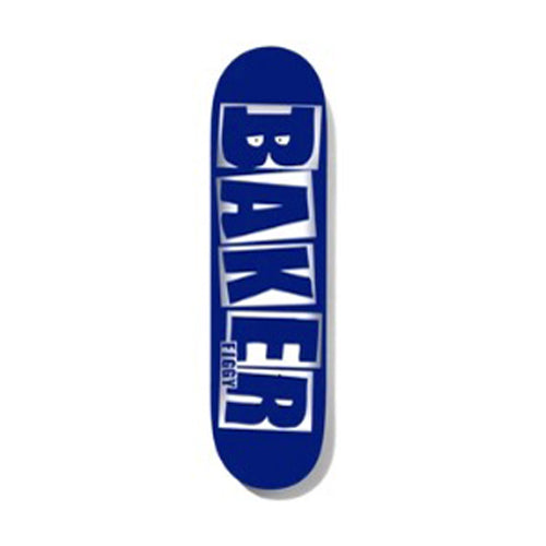 Baker - Figgy Brand Name Blue/Foil B2 8.5 Deck