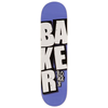 Baker - Rowan Stacked Name Purple 7.875 Deck
