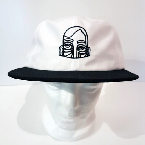 Baus Headwear - Baus x MM 6 Panel Soft Black White