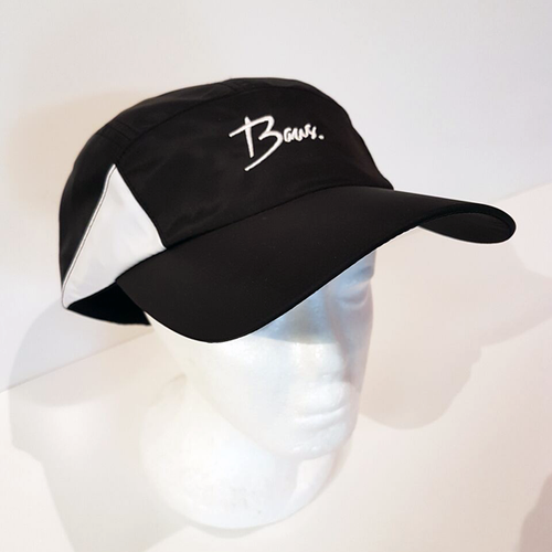 Baus Headwear - Active Hat Black White