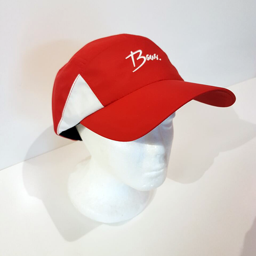 Baus Headwear - Active Hat Red White