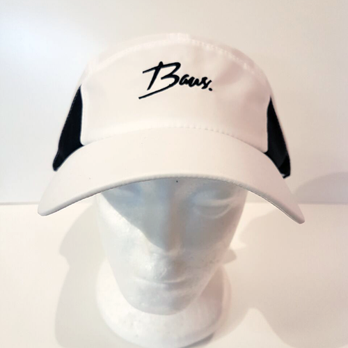 Baus Headwear - Active Hat White Black