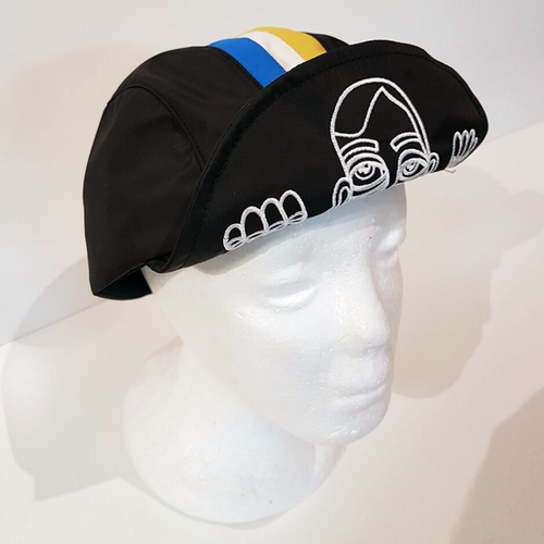 Baus Headwear - Baus x MM Striped Brooklyn Rider Cap