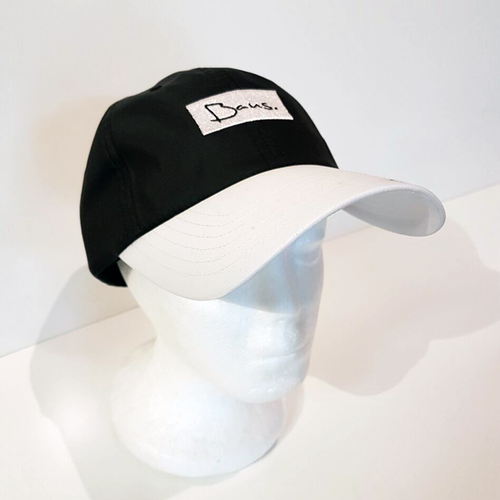 Baus Headwear - Breeze Dad Hat Black White