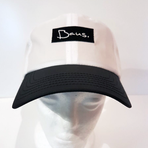 Baus Headwear - Breeze Dad Hat White Black