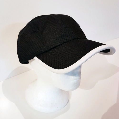 Baus Headwear - Sport Hat Black White