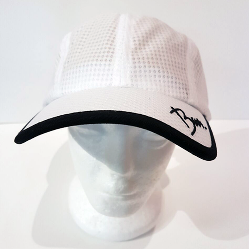 Baus Headwear - Sport Hat White Black