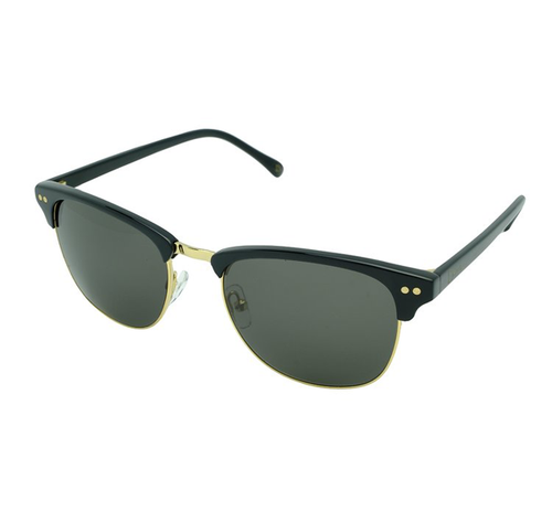 Baus Headwear - Sinatra Black/Gold sunglasses