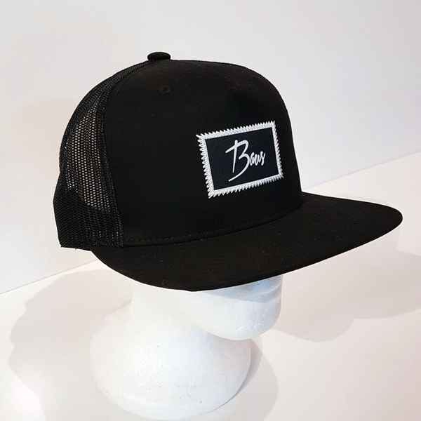 Baus Headwear - Trucker Hat Black