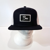 Baus Headwear - Trucker Hat Blue White