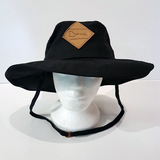 Baus Headwear - Wide Brim Hat Black Small