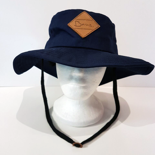 Baus Headwear - Wide Brim Hat Blue