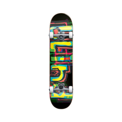 Blind - Logo Glitch Youth First Push  Complete Skateboard 7.875 Black