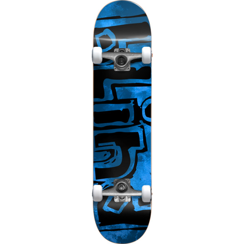 Blind - Logo Water Color Blue Complete Skateboard 7.25