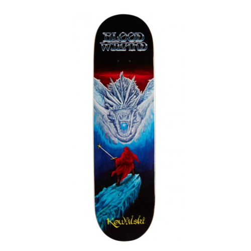 "BLOOD WIZARD - Kowalski Dragon Slayer  8.75"" Deck"