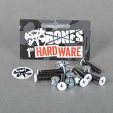 Bones - Bolts 1 Inch White