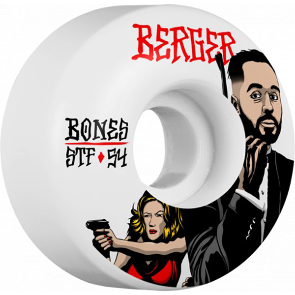 Bones Wheels - STF Berger Spy V3 54mm