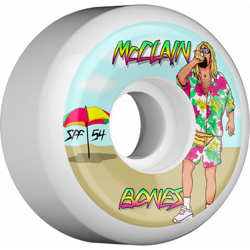 Bones Wheels - McClain Beach Bum 84B SPF Wheels