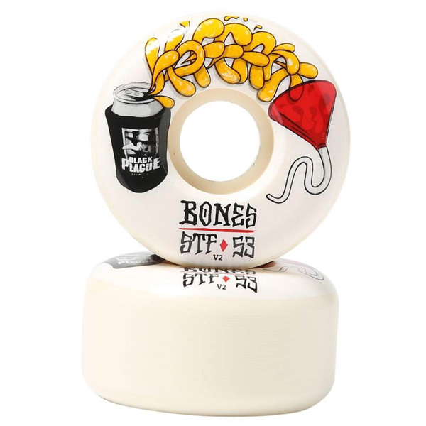 Bones Wheels - STF Hoffart Beer Bong 53mm Wheels