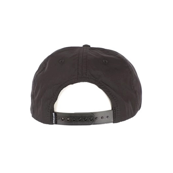Bro Style - Thumb Unstructured Snapback Cap Black