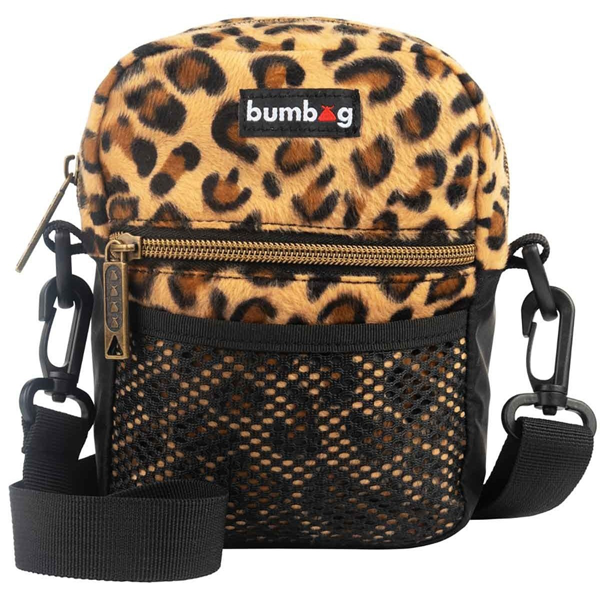 Bumbag - Furry Friends Compact Shoulder Bag Cheetah