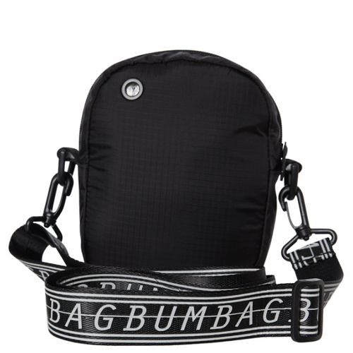 Bumbag - Hi Viz Compact Shoulder Bag Black