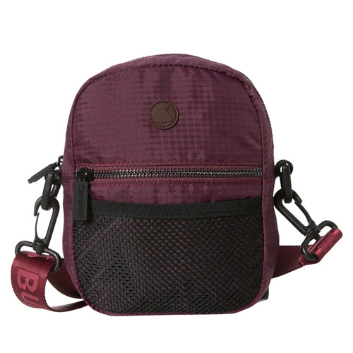 Bumbag - Staple Compact Shoulder Bag Maroon