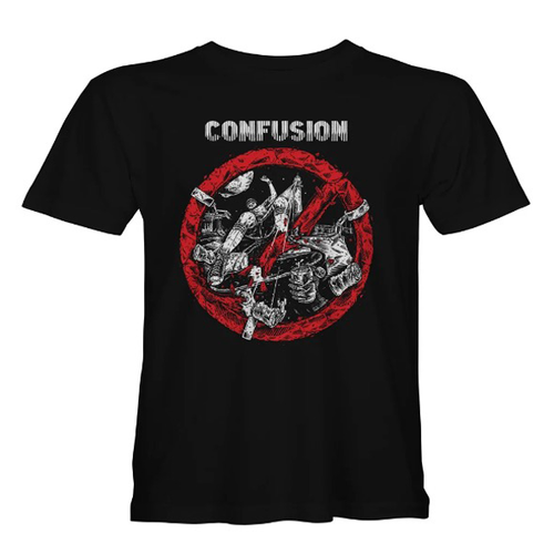 "Confusion Magazine - ""Breaking The Law"" Black T-Shirt"