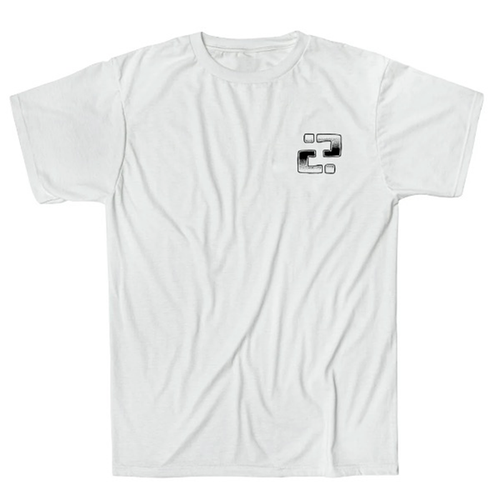 "Confusion Magazine - ""Backyard DIY"" White T-Shirt"