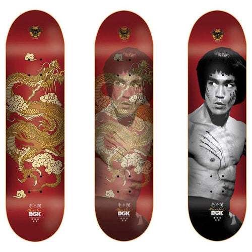 DGK - Bruce Lee Golden Dragon Red Deck