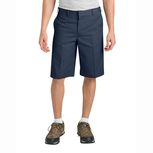 Dickies - Flat front Classic Blue 11in Inseam