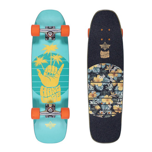 Dusters - Shaka Cruiser Teal Yellow 29""