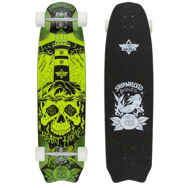 Dusters - Bones Green Downhill Longboard 37.9""