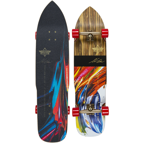 Dusters - Olsen Longboard Kryptonics Red 36.9""