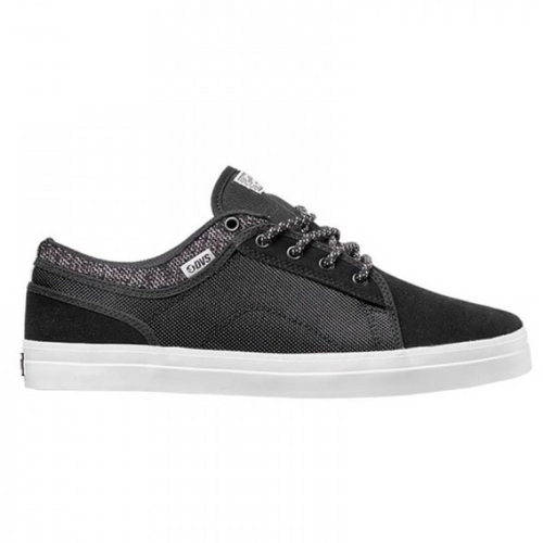 DVS - Aversa Black/White Suede