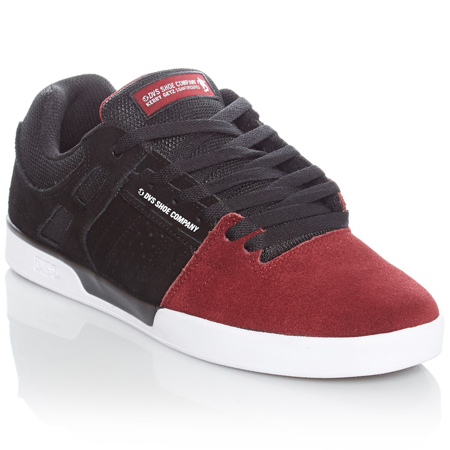 DVS - Kerry Getz Signature Shoes Wine/Black  Suede