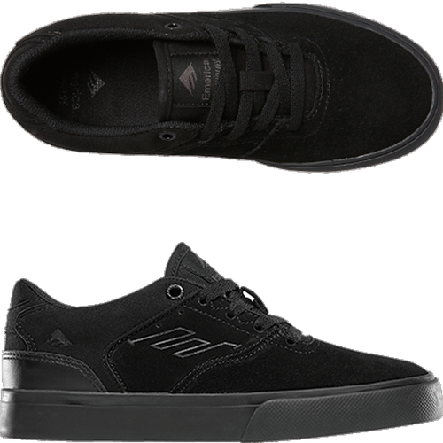 Emerica - Reynolds Low Vulc Youth Black/Black/Black