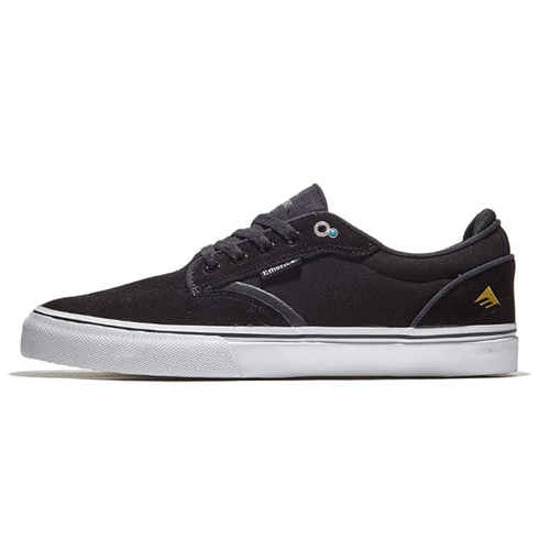 Emerica - Dickson Black/White/Gold Shoes