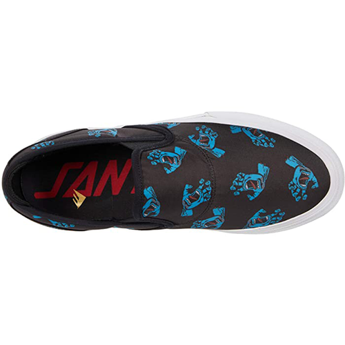 Emerica - Wino G6 Slip-On X Santa Cruz Collab Blue/Black/White