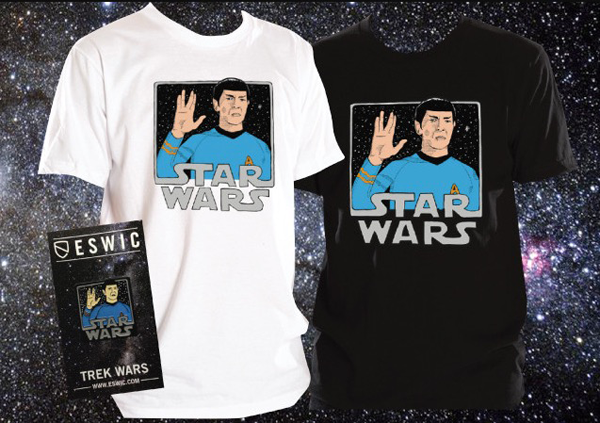 Eswic - Trek Wars T-Shirt