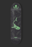 Eternal - Sea Shepherd Tiger Shark Purple Skateboard Deck