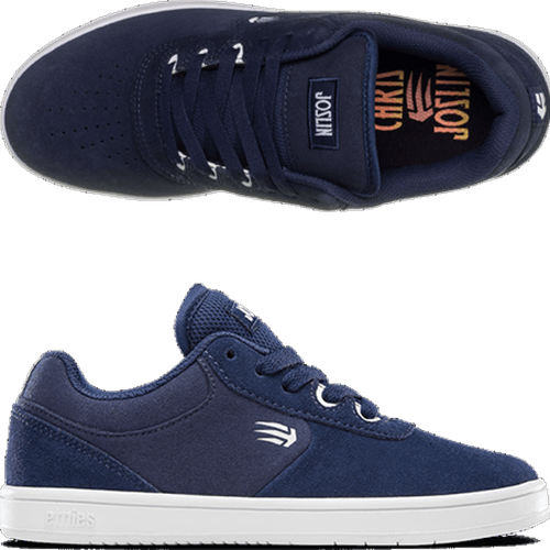 Etnies - Chris Joslin Kid Navy/White Shoes