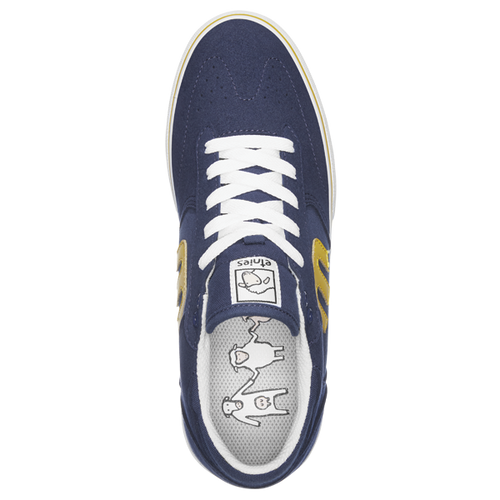 Etnies - Windrow Vulc X Sheep Navy/Yellow/White Shoes