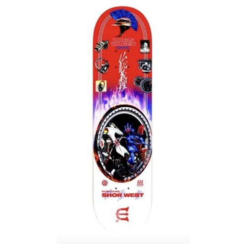 "Evisen Skateboards - Shor West Wild Dragster Model 8.6"" Deck"